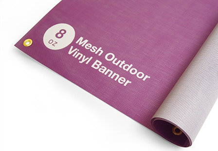 photograph relating to Printable Outdoor Vinyl named 8oz Mesh Banners Sturdy Outside Banners Primoprint